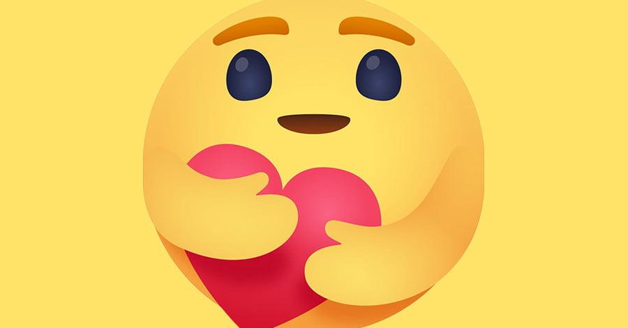 facebook-hug-reaction